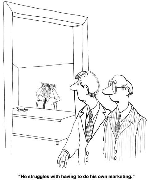 ilustrações, clipart, desenhos animados e ícones de marketing and sales - assistente jurídico