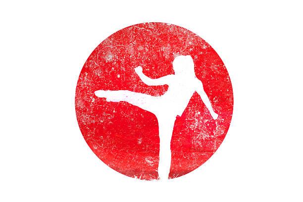 arts martiaux - Illustration vectorielle