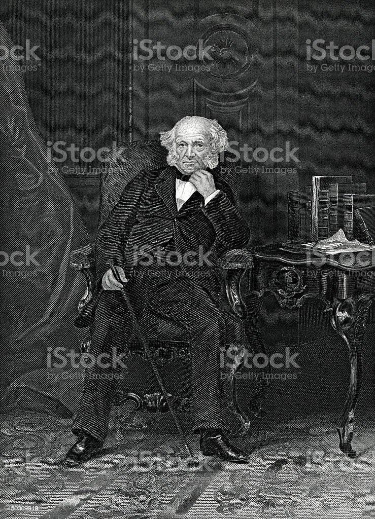 Martin Van Buren royalty-free martin van buren stock vector art & more images of 19th century