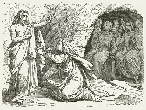 Mary Magdalene and the Risen Jesus (John 20), published 1877