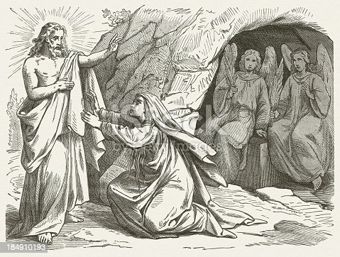 istock Mary Magdalene and the Risen Jesus (John 20), published 1877 184910193