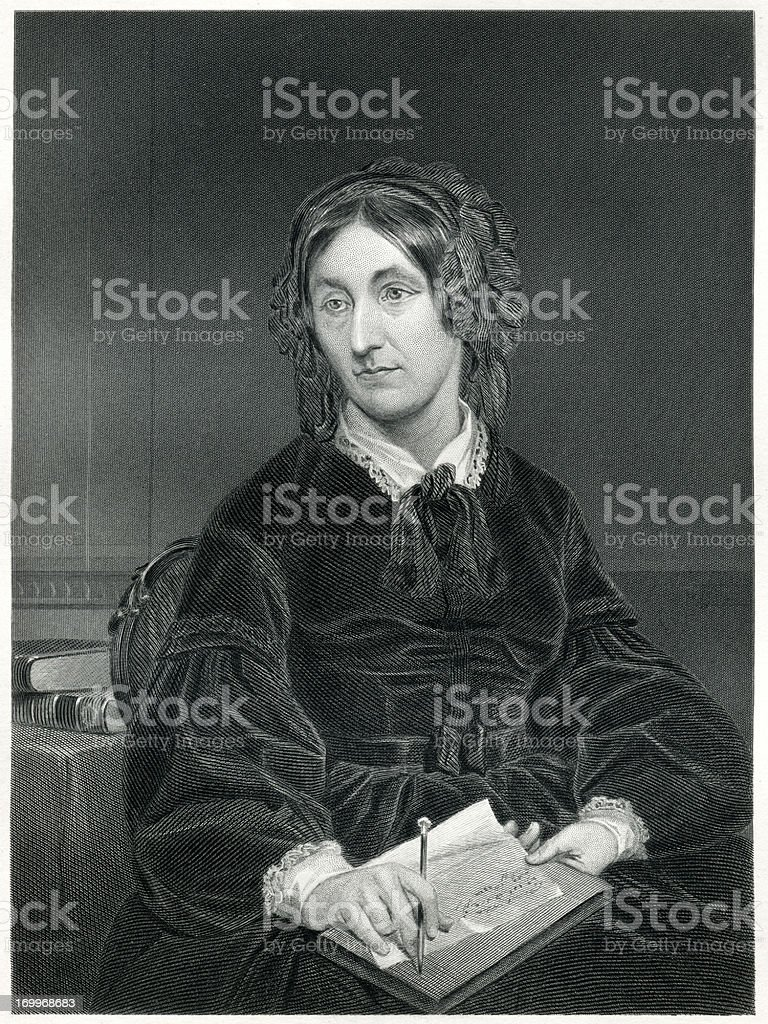 Mary Somerville royalty-free stock vector art