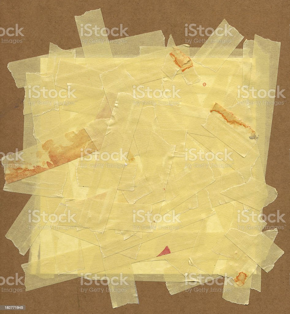 Masking Tape on Board Background royalty-free masking tape on board background stock vector art & more images of abstract
