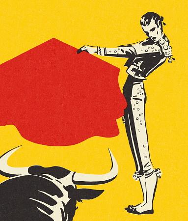 Matador and a Bull