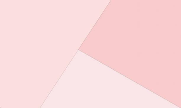 bildbanksillustrationer, clip art samt tecknat material och ikoner med material design bakgrund i millennial pinks-abstrakt överlappande papper i blek pastell rosa färger - rosa bakgrund