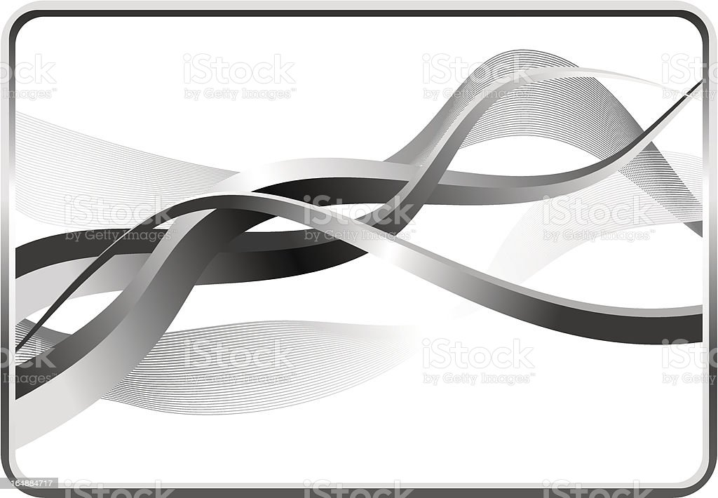 mathematical 3d background royalty-free stock vector art