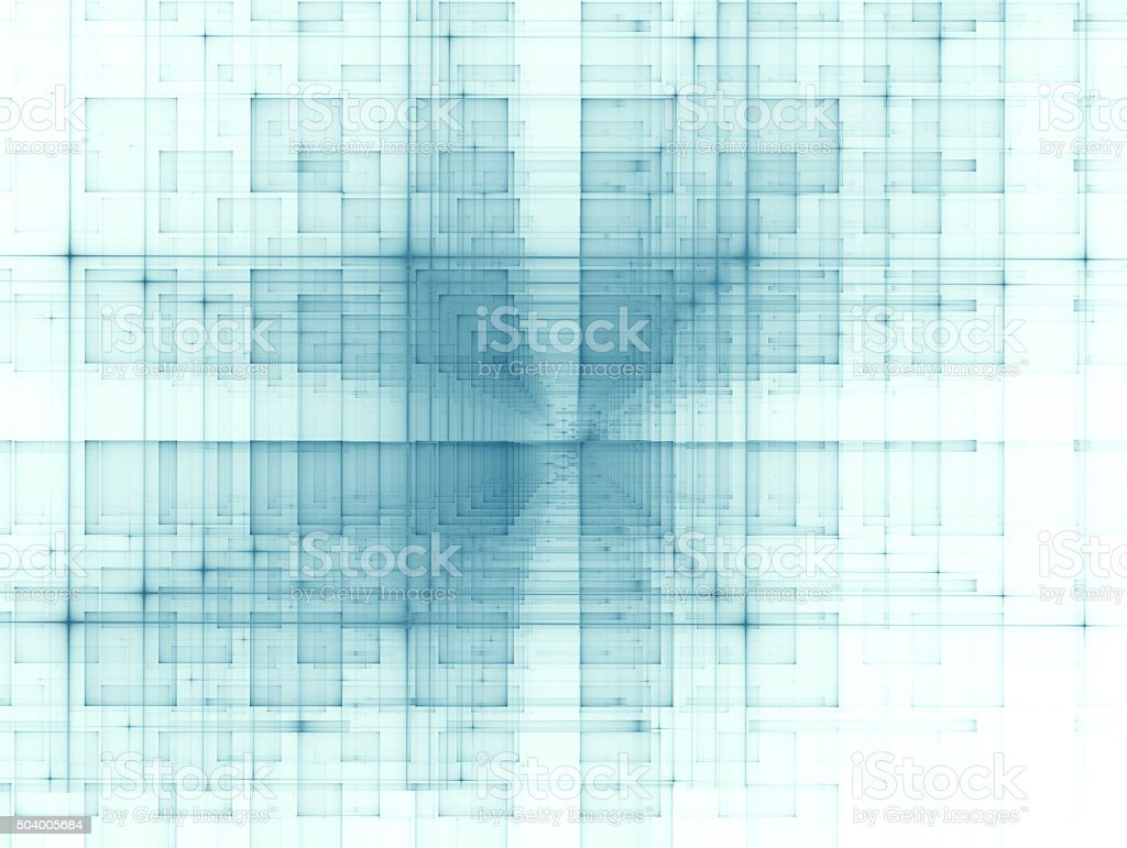 Matrix - Abstract Modern Background vector art illustration