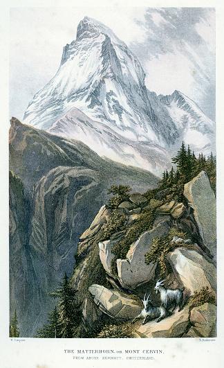Matterhorn or Mont Cervin