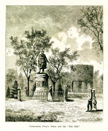Matthew Perry Monument, Newport, Rhode Island