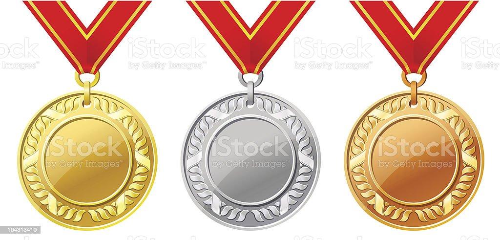 medal royalty-free stock vector art