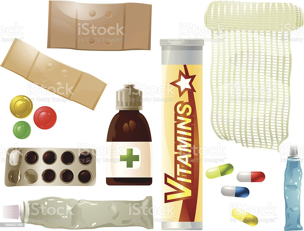 Medi Pack royalty-free stock vector art
