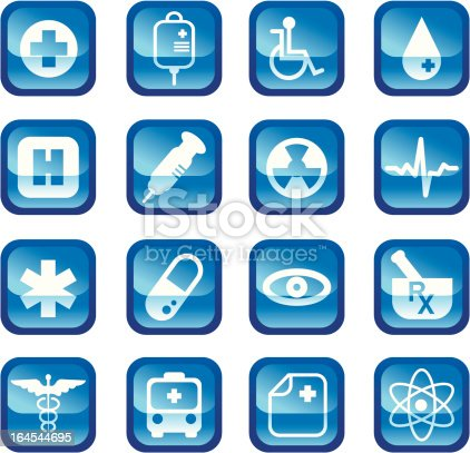 istock Medical Icons 164544695