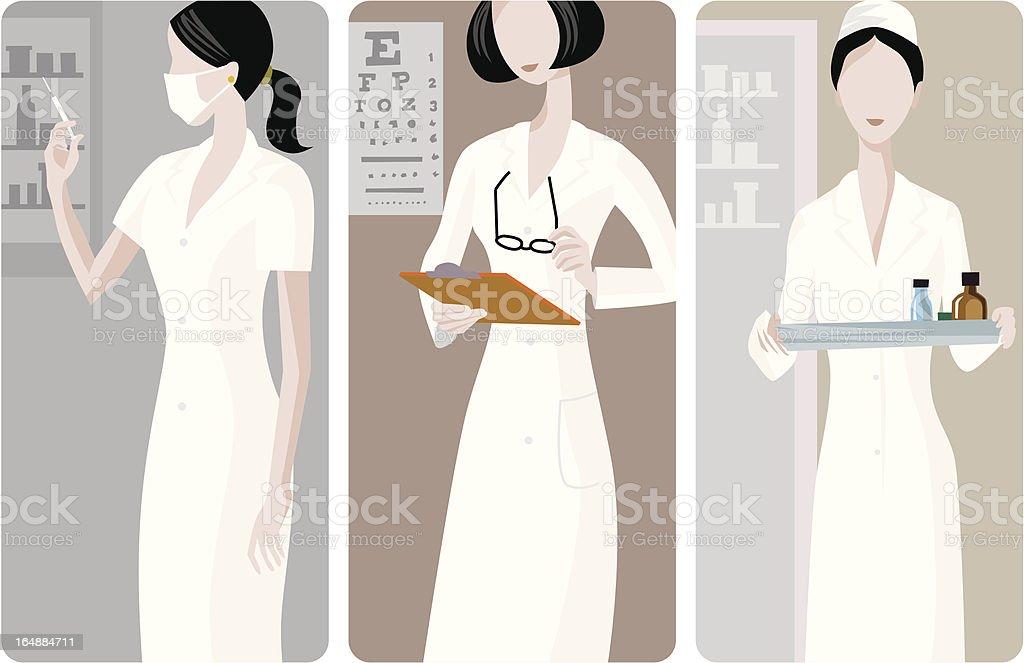 Medical Vector Illustrations Series royalty-free stock vector art