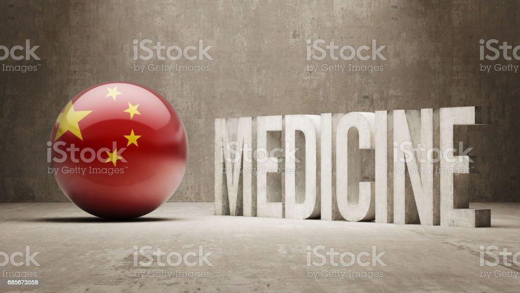 Medicine Concept 免版稅 medicine concept 向量插圖及更多 中國國旗 圖片