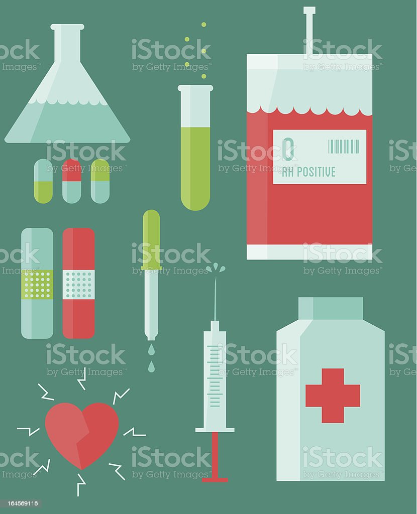 Medicine royalty-free stock vector art