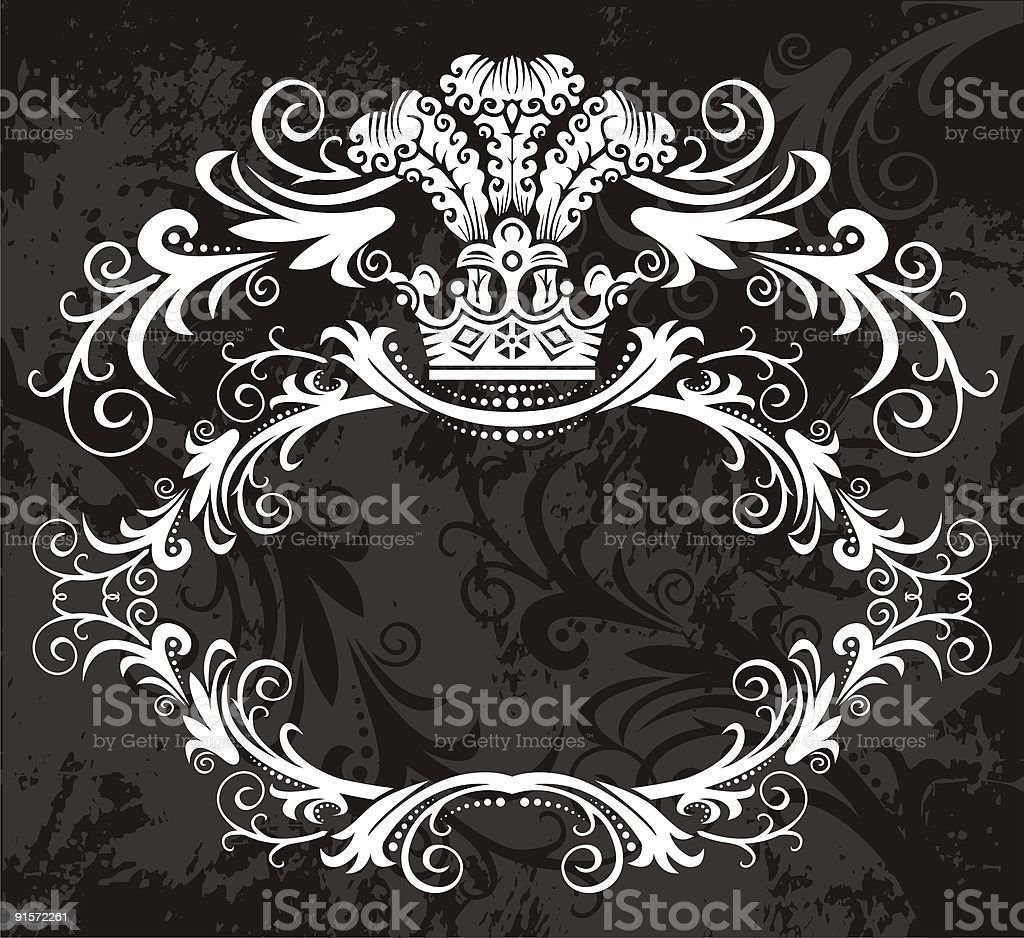 medieval frame royalty-free stock vector art