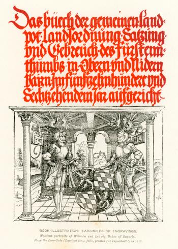 Medieval Illumination Dukes of Bavaria