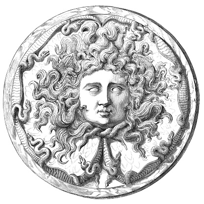 Medusa on the Farnese Cup - 2nd Century BC