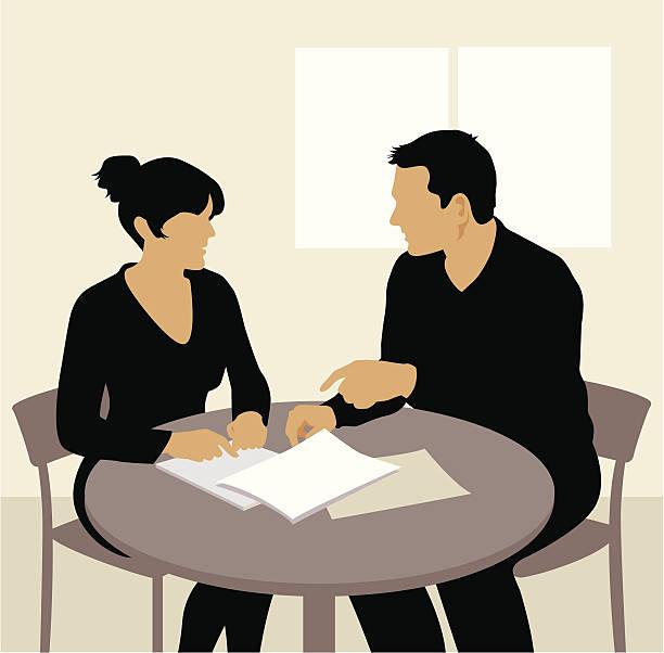 Business People Having Board Meetingvector Illustration ... |Business Meeting Cartoon Person