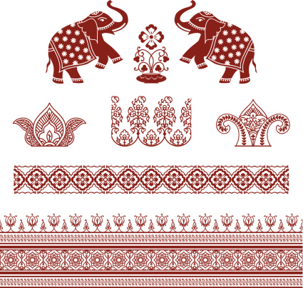Mehndi Ornaments