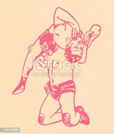 Men Wrestlers