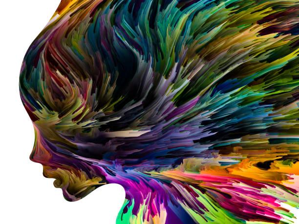 Mental Canvas vector art illustration