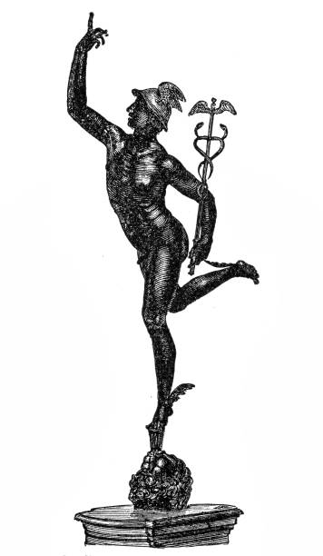 Best Mercury Roman God Illustrations, Royalty-Free Vector ...