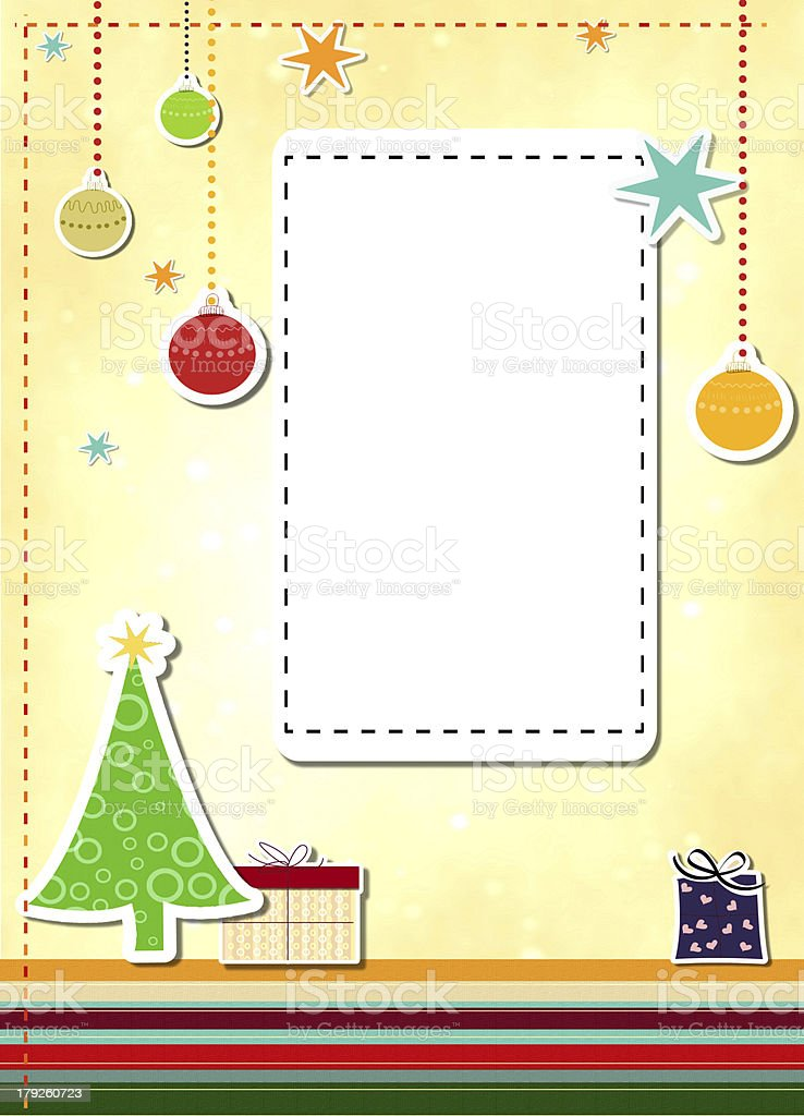 Merry Christmas royalty-free stock vector art