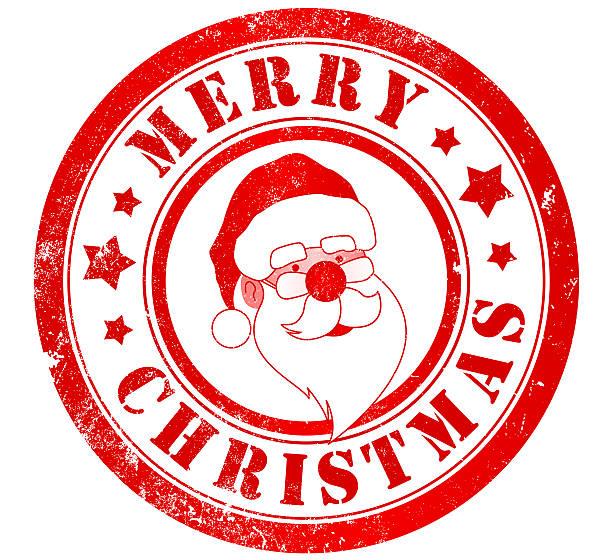 Feliz navidad de la firma - ilustración de arte vectorial