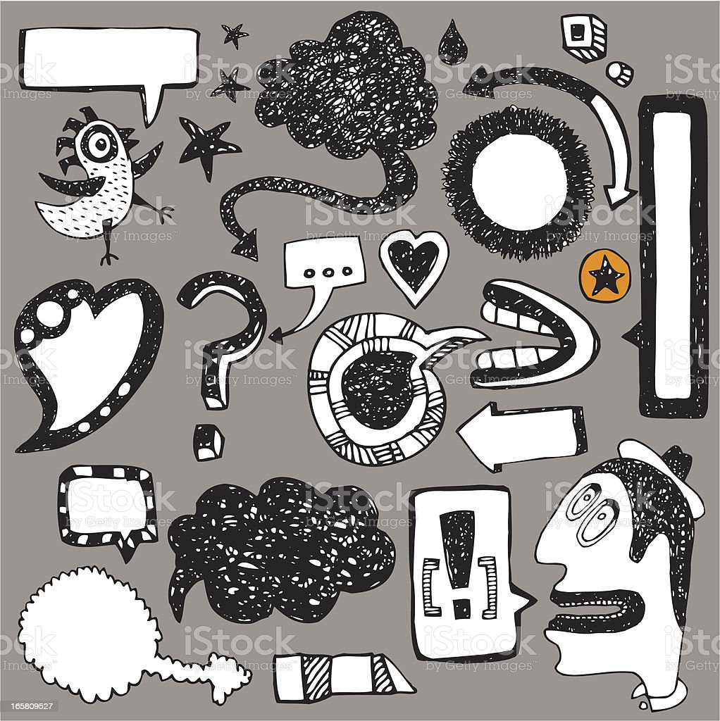 Messages and frames royalty-free messages and frames stock vector art & more images of animal markings