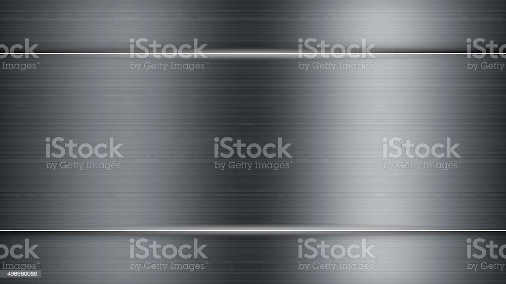 Metal Background vector art illustration
