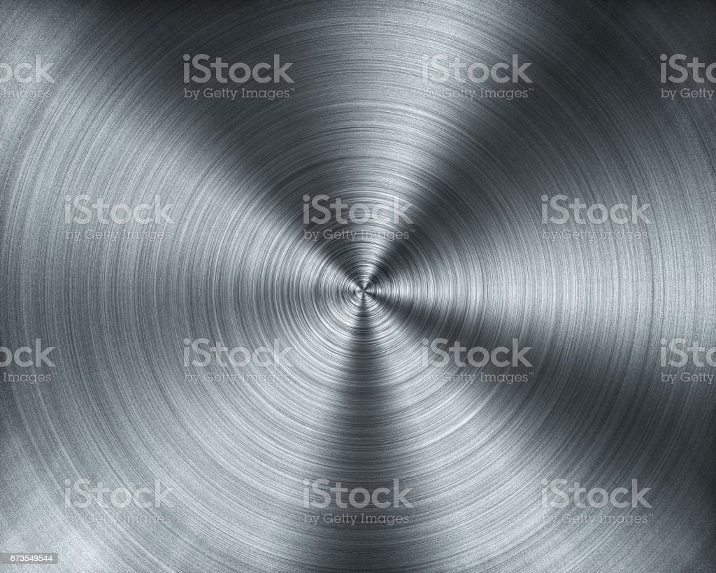 Metal forming from CNC Lathing machine texture vector art illustration