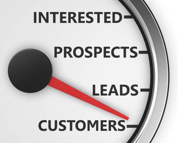 meter Illustration of internet marketing customers meter 3d rendering qualification round stock illustrations