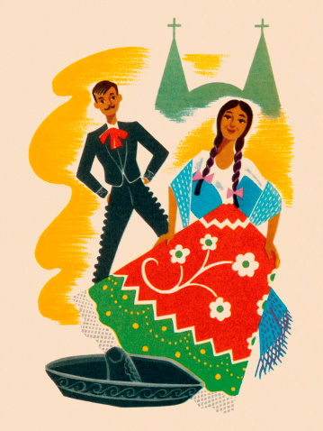 Mexican Hat Dance Couple