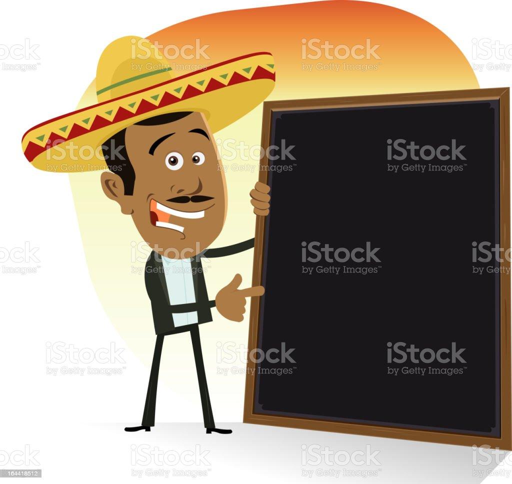 Menú De Cocina Mexicana Illustracion Libre de Derechos 164418512 ...