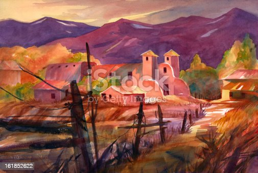istock Mexican Village 161852622