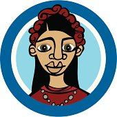 istock Mexican woman_Frida 164306079