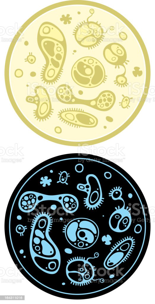 microbe 1 royalty-free stock vector art
