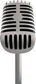 Microphone-Vector Illustration