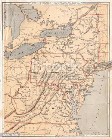 Cornell's Grammars-School Geography - S.S. Cornell - New York D. Appleton and Company 1869