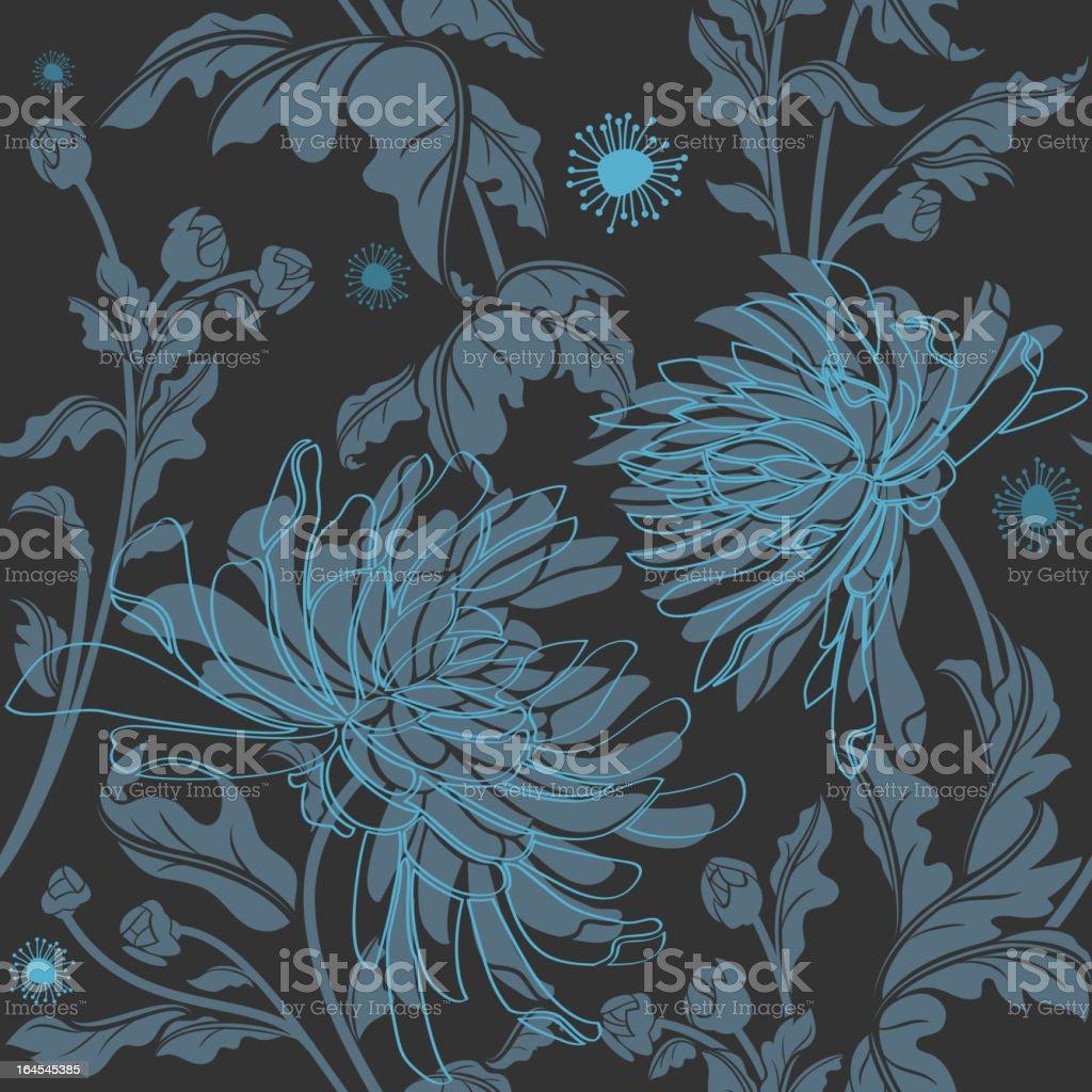 Midnight Bloom royalty-free stock vector art