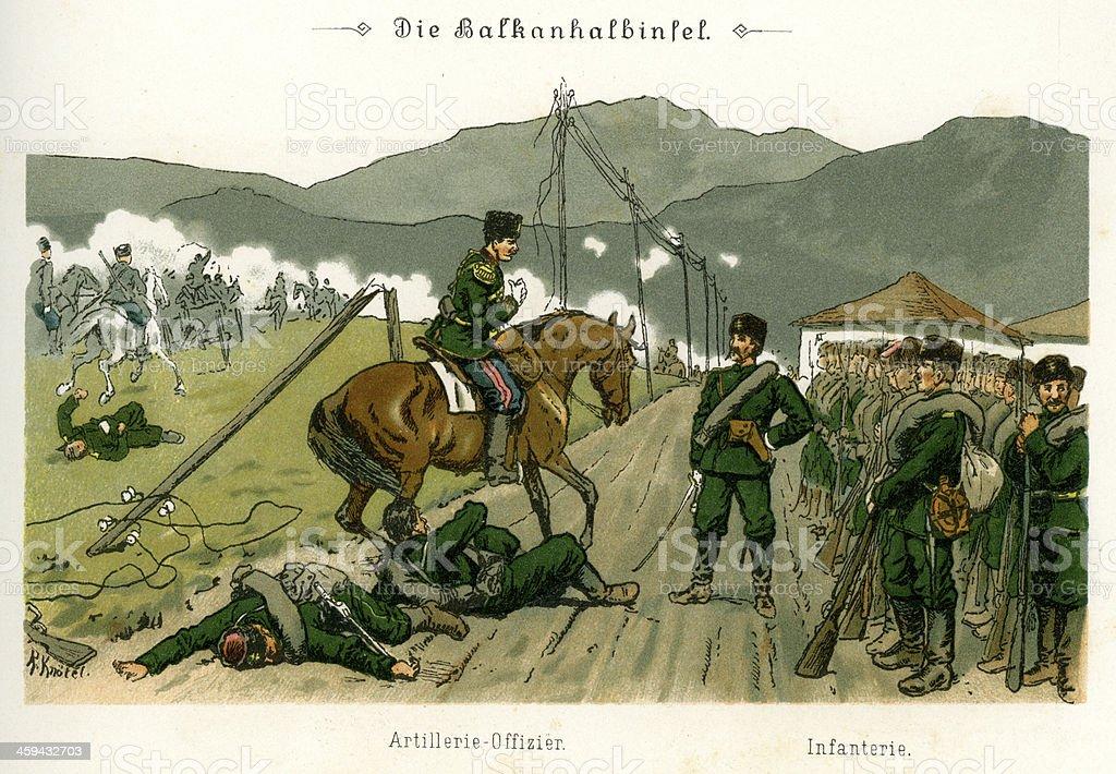 Military of the Balkan Peninsula royalty-free military of the balkan peninsula stock vector art & more images of 1880-1889