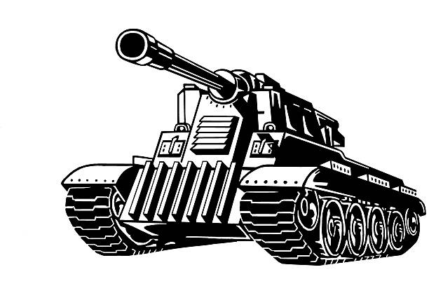Royalty Free Armored Tank Clip Art, Vector Images ...