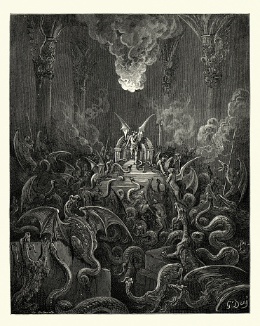 Milton's Paradise Lost - Dreadful was the din