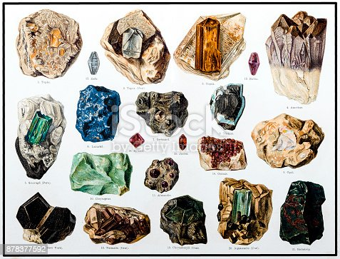 istock Minerals and Their Crystalline Forms 878377592
