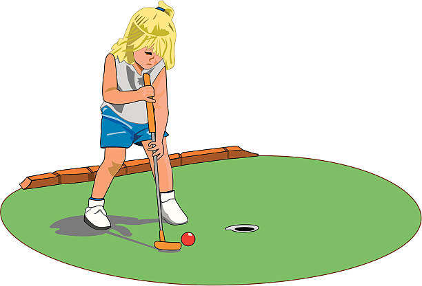 royalty free mini golf clip art vector images