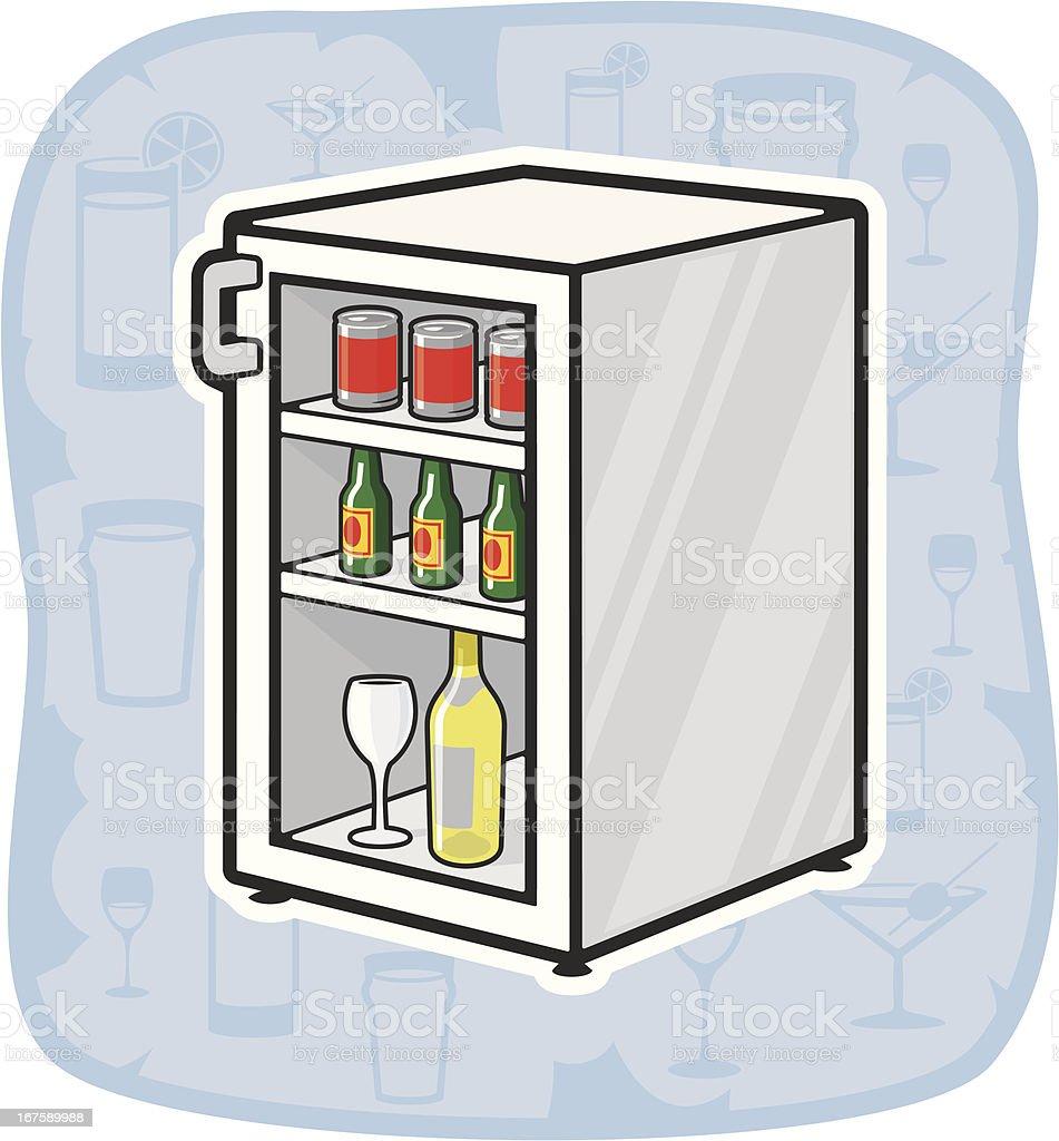 Minibar Stock Vektor Art und mehr Bilder von Alkoholisches Getränk ...