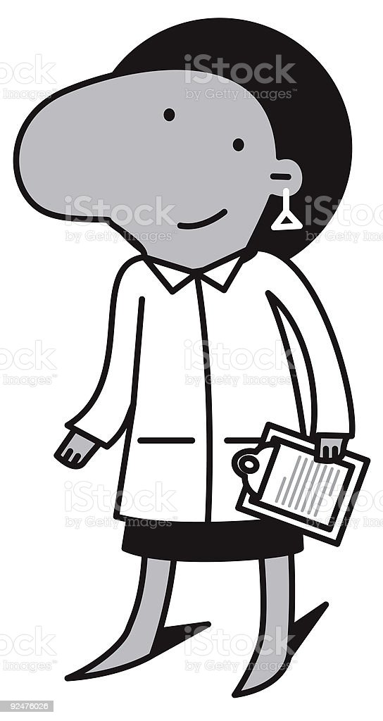Minority Woman Doctor royalty-free minority woman doctor stock vector art & more images of adhesive tape