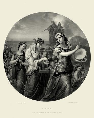 Miriam's Song of Praise by Wilhelm Hensel