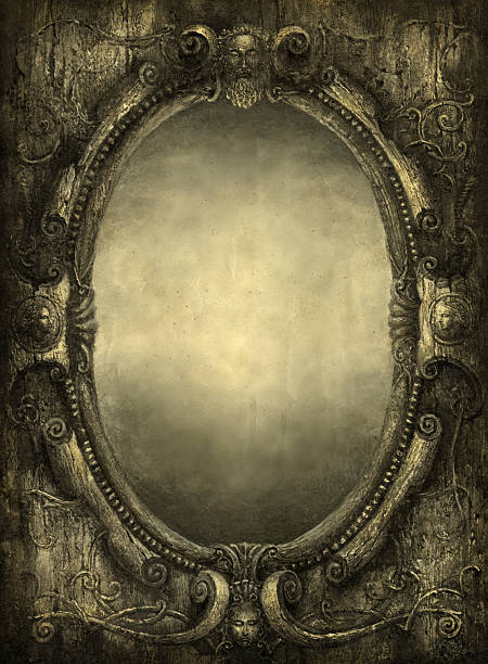 Royalty Free Mirror Frame Clip Art, Vector Images & Illustrations ...